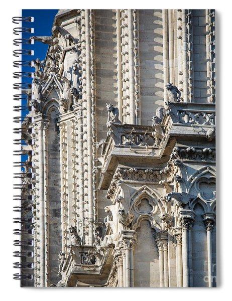 Gargoyles Spiral Notebook