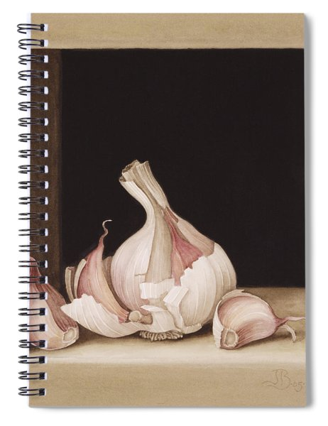 Garlic Spiral Notebook