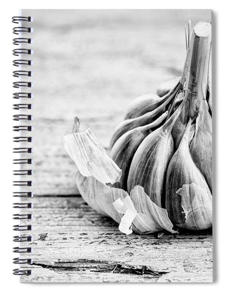 Garlic Spiral Notebook by Nailia Schwarz