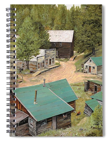 Garnet In Montana Spiral Notebook