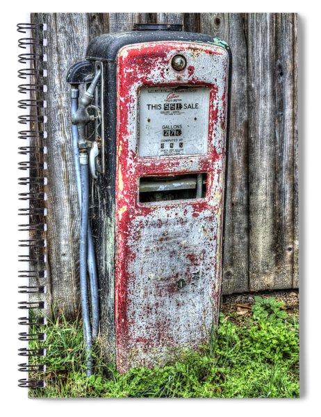Gas Dispenser Spiral Notebook