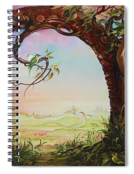 Gate Of Illusion Spiral Notebook