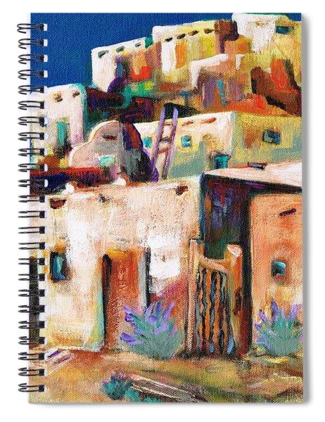 Gateway Into  The  Pueblo Spiral Notebook