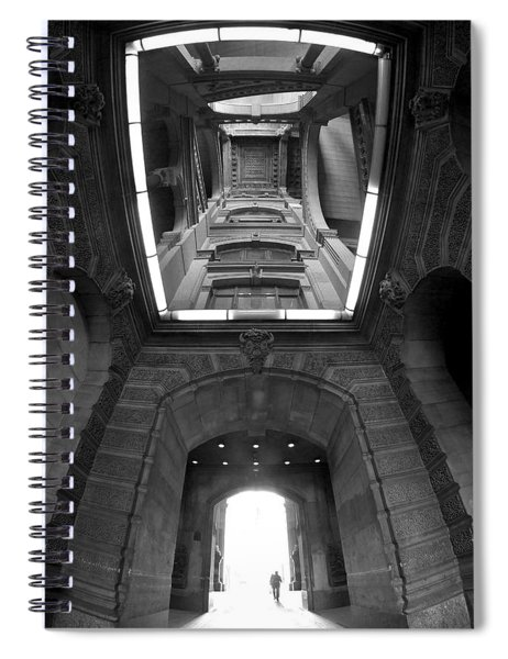 Gateway To A Forgotten Land Spiral Notebook
