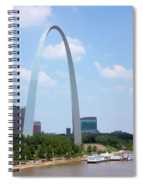 Gateway To The West Spiral Notebook