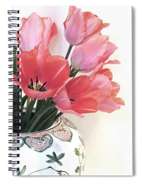Gathered Tulips Spiral Notebook