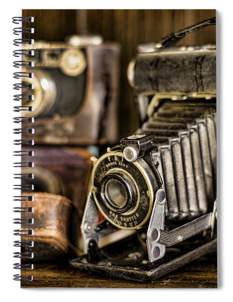Gathering Dust Iv Spiral Notebook