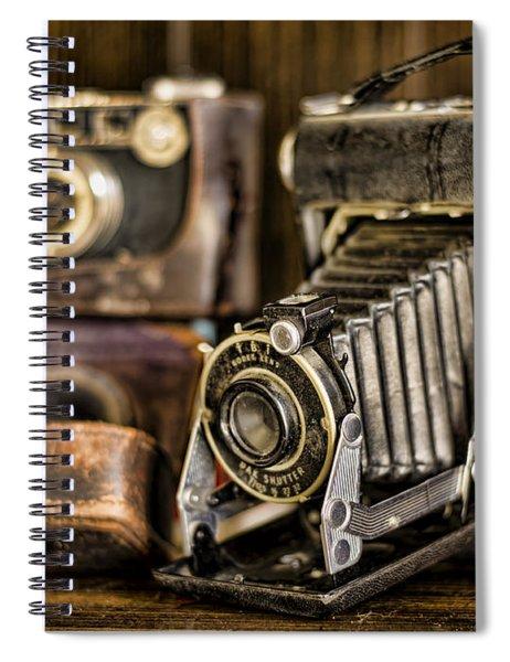 Gathering Dust Iv Spiral Notebook