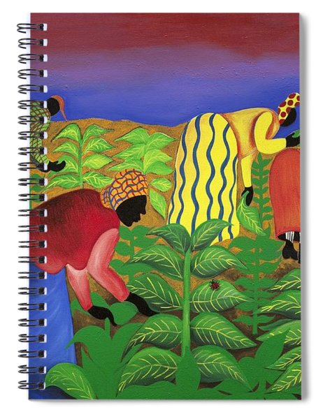 Gathering Precious Waves Spiral Notebook