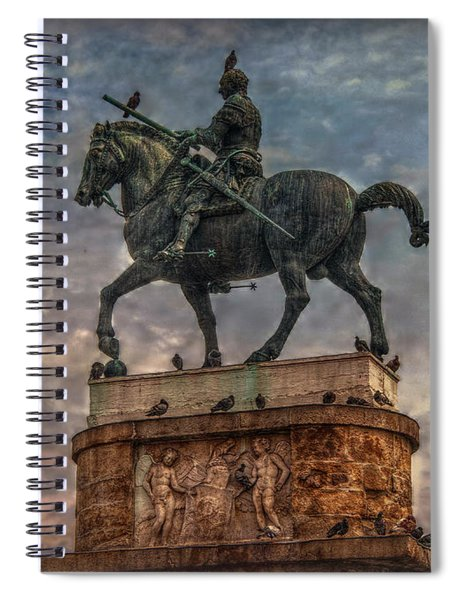 Gattamelata And The Pigeons Spiral Notebook