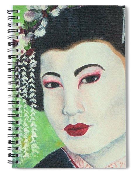 Geisha Spiral Notebook