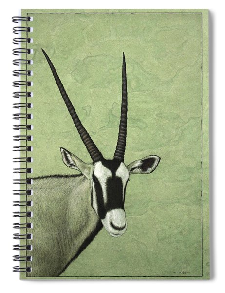 Gemsbok Spiral Notebook