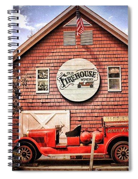 Geneva On The Lake Firehouse Spiral Notebook
