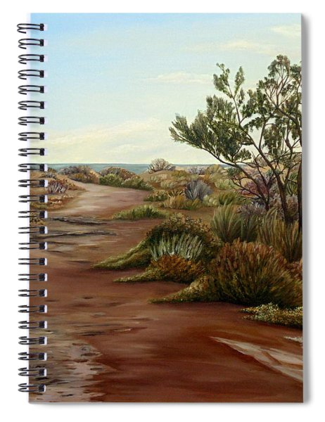 Genoveses' Walk Spiral Notebook