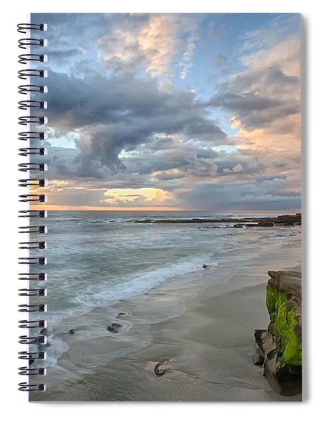 Gentle Sunset Spiral Notebook