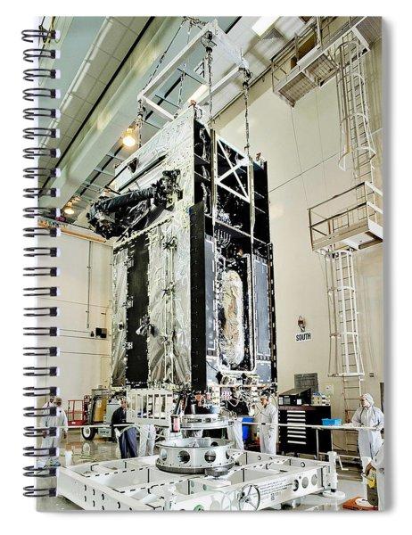 Geo-1 Satellite In Lab Spiral Notebook