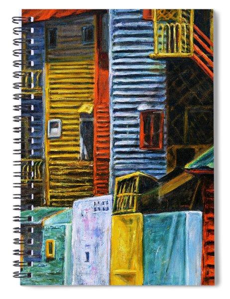 Geometric Colours I Spiral Notebook