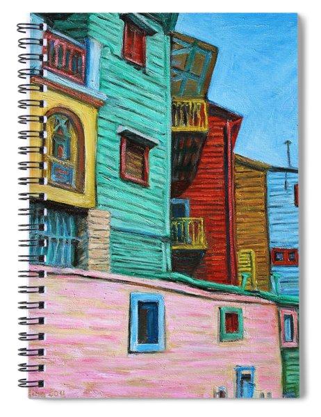 Geometric Colours II Spiral Notebook
