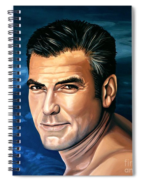 George Clooney 2 Spiral Notebook