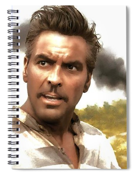 George Clooney In The Film O Brother Where Art Thou Spiral Notebook