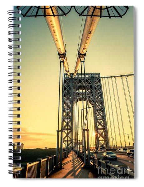 George Washington Sunset Spiral Notebook