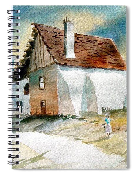 George's House Spiral Notebook