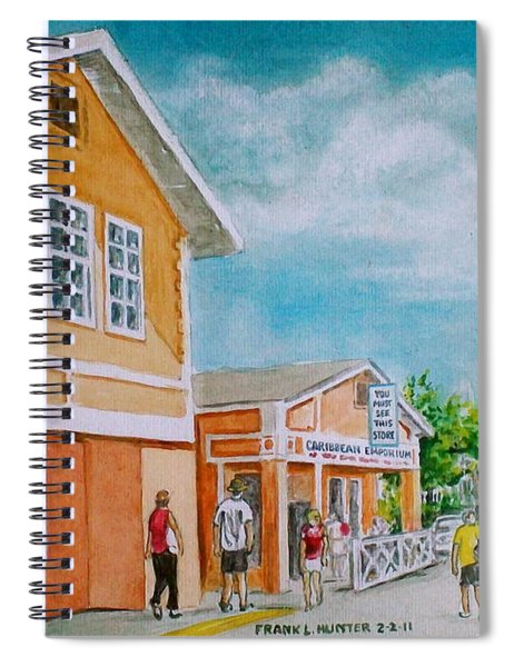 Georgetown Grand Cayman Spiral Notebook