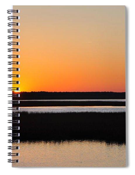 Georgia Sunset Spiral Notebook
