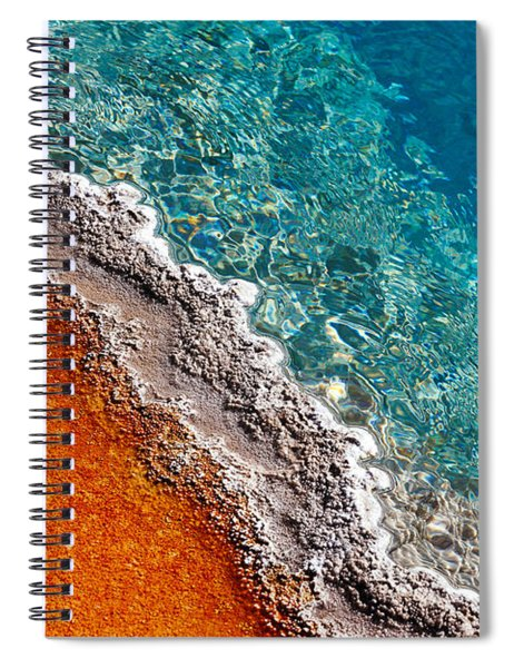 Geothermic Layers Spiral Notebook