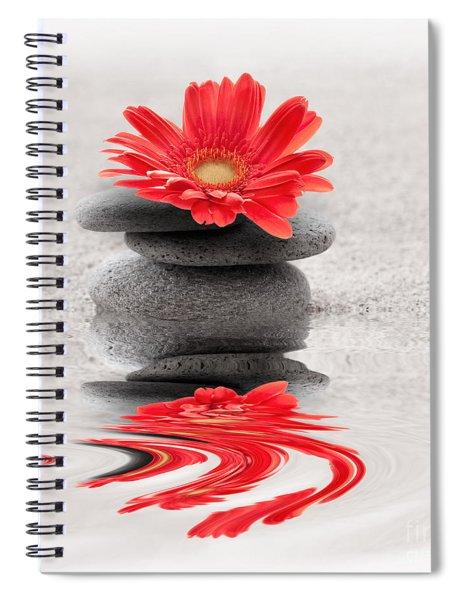 Gerbera Reflection Spiral Notebook