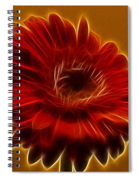Gerbia Daisy Spiral Notebook