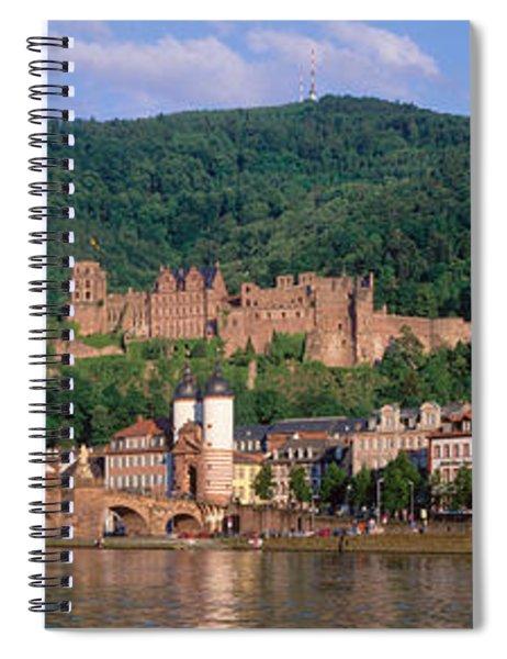 Germany, Heidelberg, Neckar River Spiral Notebook