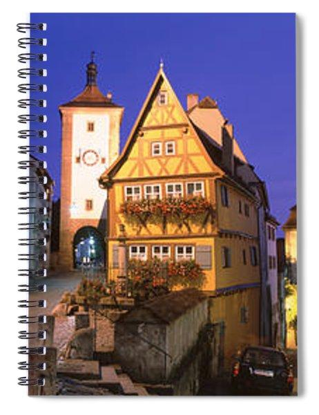 Germany, Rothenburg Ob Der Tauber Spiral Notebook