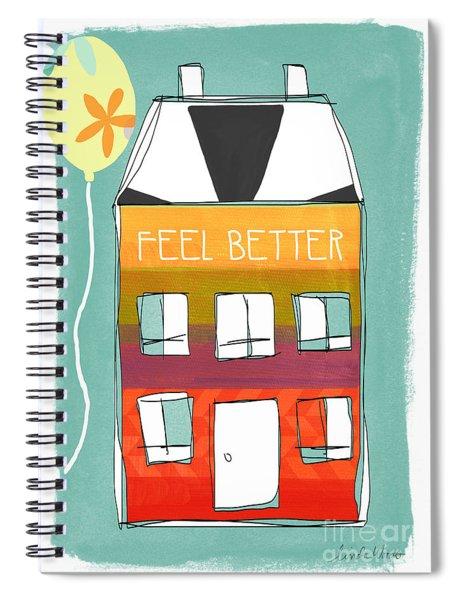 Get Well Card Spiral Notebook