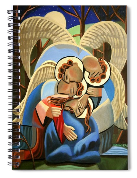 Gethsemane The Hour Is Near Spiral Notebook