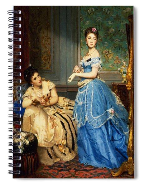 Getting Dressed, 1869 Spiral Notebook