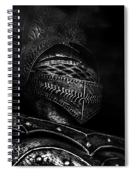 Ghostly Knight Spiral Notebook