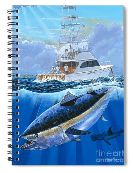 Giant Bluefin Off00130 Spiral Notebook