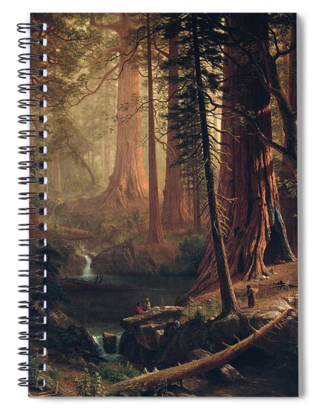 Giant Redwood Trees Of California Spiral Notebook