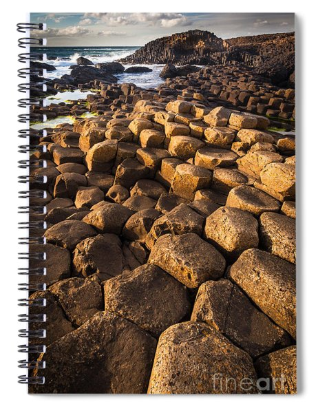 Giant's Causeway Bricks Spiral Notebook