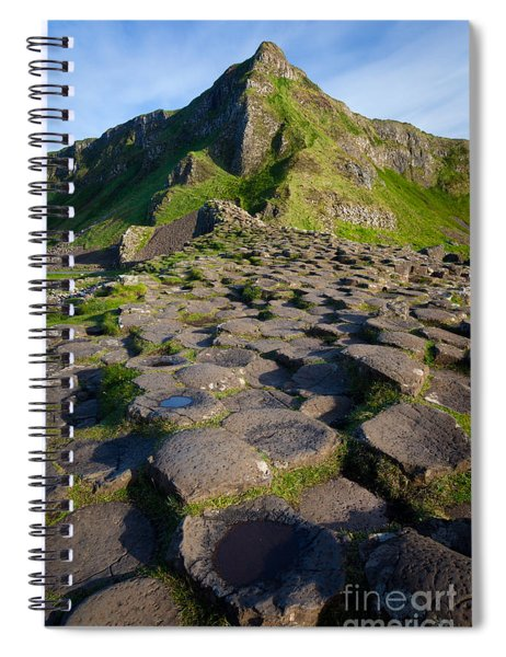 Giant's Causeway Green Peak Spiral Notebook