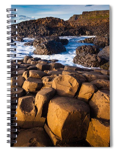 Giant's Causeway Surf Spiral Notebook