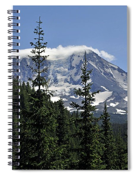 Gifford Pinchot National Forest And Mt. Adams Spiral Notebook