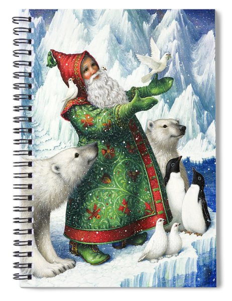 Gift Of Peace Spiral Notebook