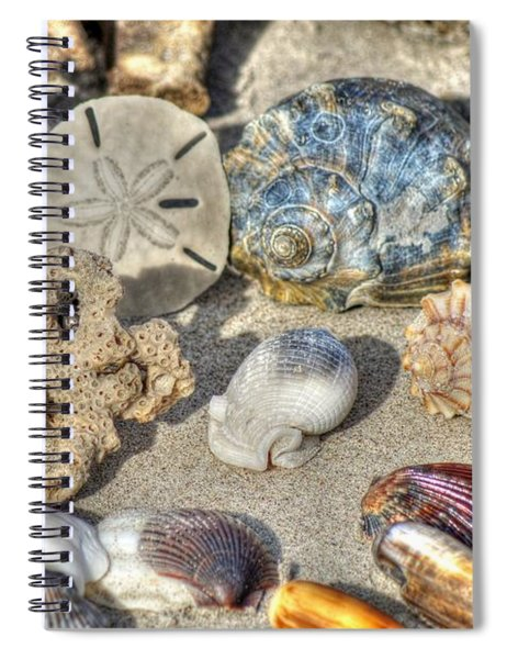 Gifts Of The Tides Spiral Notebook