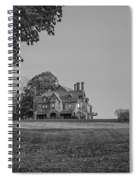 Gilded Age Mansion Spiral Notebook