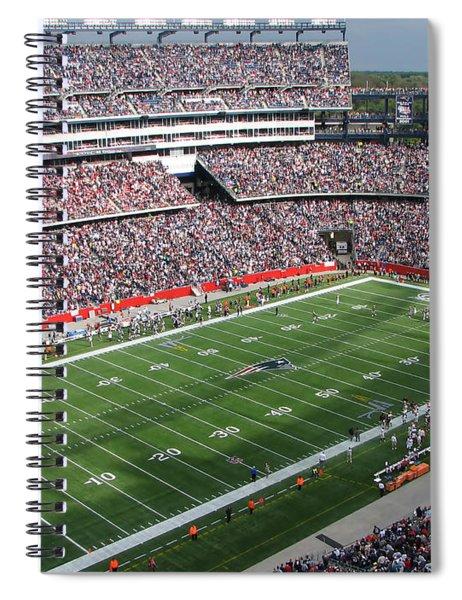 Gillette Stadium Spiral Notebook
