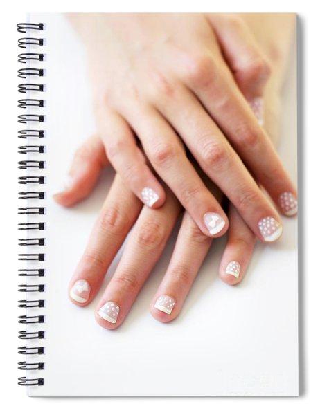 Girl Hands Spiral Notebook