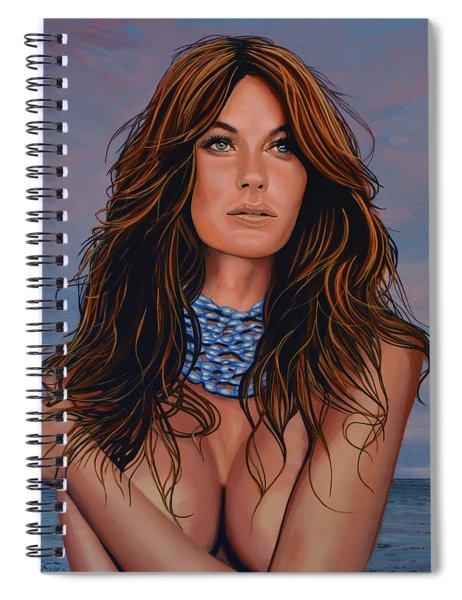 Gisele Bundchen Painting Spiral Notebook