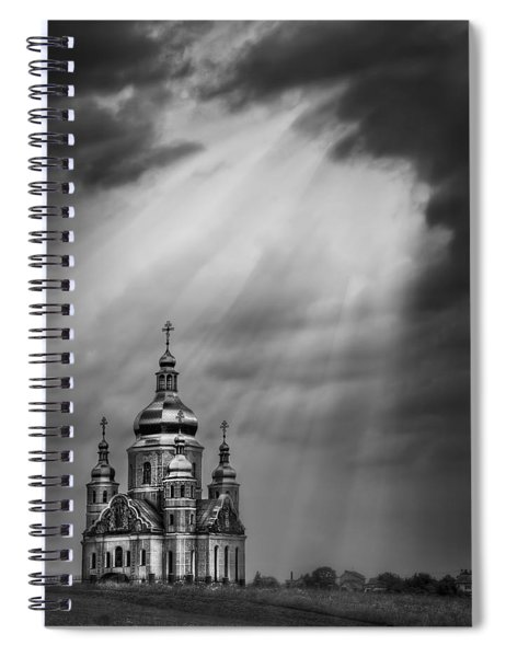 Give Me A Sign Spiral Notebook